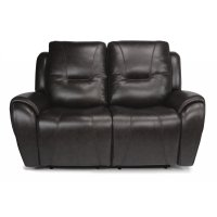 Trip Leather Power Reclining Loveseat with Power Headrests Product Image