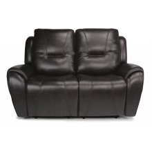 Trip Leather Power Reclining Loveseat with Power Headrests