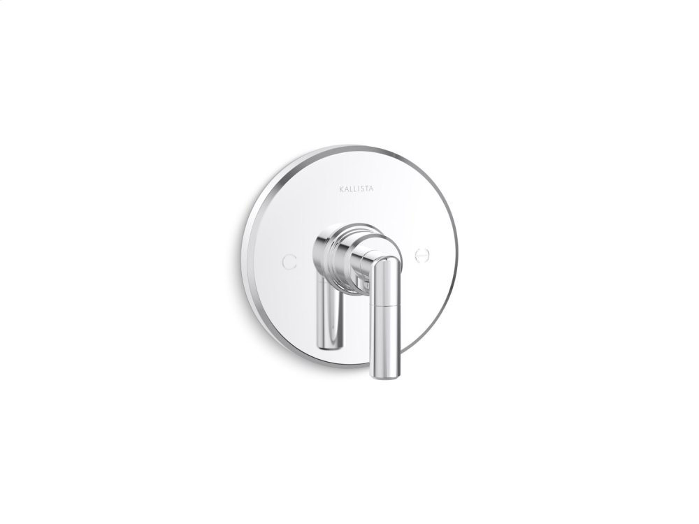 Thermostatic Trim, Lever Handle - Chrome