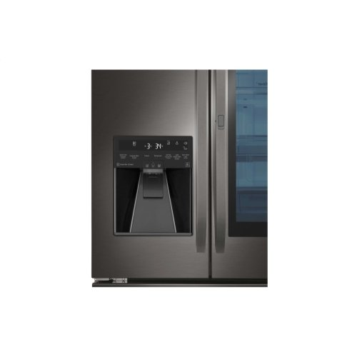 "LG Studio - 36"" Instaview Door-in-door® Counter-depth Refrigerator, 24 Cu. Ft. **OPEN BOX** Ankeny Location"