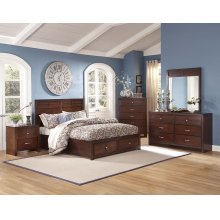 Kensington California King Storage Bed