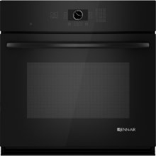 "Single Wall Oven with MultiMode® Convection, 30"", Black Floating Glass w/Handle"