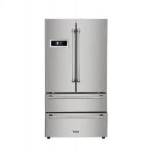 Stainless Steel French Door Refrigerator - Display