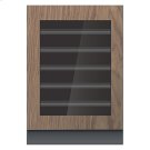 """Panel-Ready 24"""" Built-In Undercounter Wine Cellar - Left Swing Product Image"""