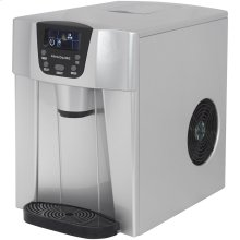 Compact Ice Maker with Water Dispenser