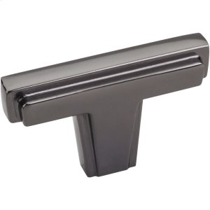 "2"" Overall Length Cabinet ""T"" Knob. Product Image"