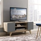 """Tread 47"""" TV Stand in Natural Gray Product Image"""