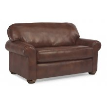 Preston Leather Twin Sleeper