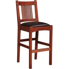 Counter Stool Seat Height 26, Cherry Spindle Stool
