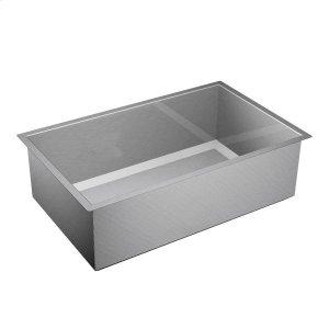 "1600 Series 32""x20"" stainless steel 16 gauge single bowl sink Product Image"