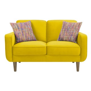 Jax Living Loveseat Yellow