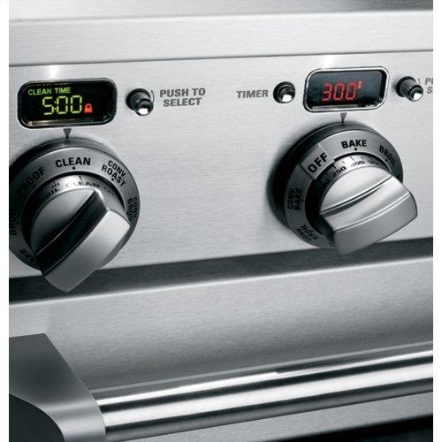 "Monogram 30"" All Gas Professional Range with 4 Burners (Liquid Propane)"