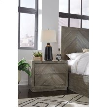 Herringbone Nightstand
