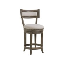 Grigio Aperitif Swivel Counter Stool