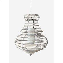 (LS) Sienna Hanging Lamp (L) (20X20X25)