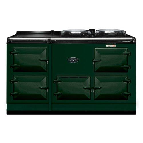 British Racing Green 4-Oven AGA Cooker (gas) Cast-iron range cooker