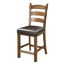 Emerald Home Chambers Creek Barstool W/nailhead Trim-dark Brown Pu Uph Seat D412-24-05