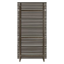 Wood Slat Etagere