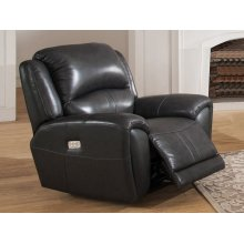 Power Recliner in Jackson Cadet-Gray