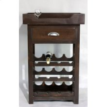 "#595 Hampton Wine Stand 27""wx16.5""dx41""h"