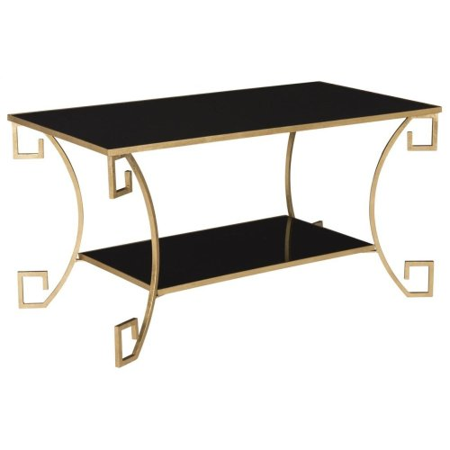 Yasemeen Coffee Table - Antique Gold Leaf