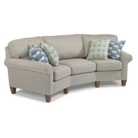 Westside Fabric Conversation Sofa Product Image