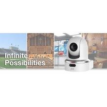 ROBOTIC PTZ NETWORK VIDEO PRODUCTION CAMERA (WHITE)
