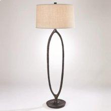 Ellipse Floor Lamp-Bronze