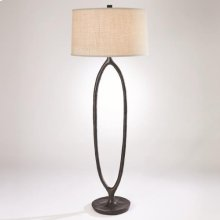 Ellipse Floor Lamp-Bronze