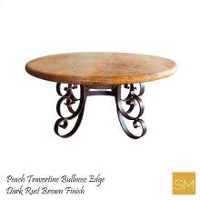 Round Iron Dining Table
