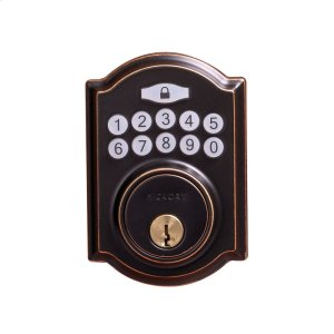Traditional Electronic Keypad Deadbolt - Grade 3 Product Image