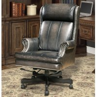 DC#105-SM - DESK CHAIR Leather Desk Chair Product Image