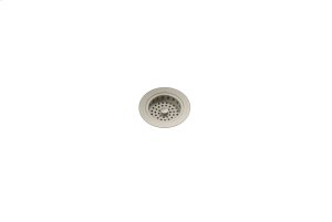 """Drain 100082 - Stainless steel sink accessory , Satin Nickel, 3 1/2"""" Product Image"""