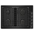 """Black 30"""" JX3 Gas Downdraft Cooktop Product Image"""