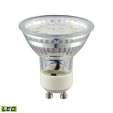 Bulb GU10 Dimmable LED (7-Watt, 600 Lumens, 3000K, 80 CRI, 120 Volt)