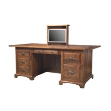 Executive Desk with Monitor Lift