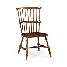 Windsor armchair walnut