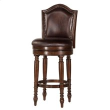 "30"" Barcelona Bar Stool, Brown"