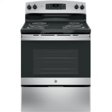 "DISCONTINUED FLOOR MODEL GE® 30"" Free-Standing Electric Range"