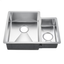 Fennel Double Bowl Stainless Kitchen Sink