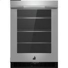 """RISE™ 24"""" Under Counter Glass Door Refrigerator, Left Swing, RISE Product Image"""