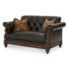 Leather Loveseat - Opt1