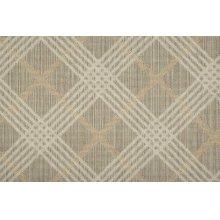 Sands Point Costal Plaid Cstpl Shell/ivory Broadloom