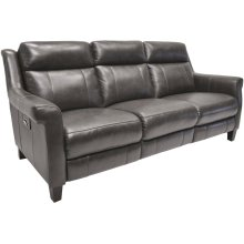 Power Reclining Sofa in Benton-Smoke