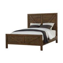 Queen Bed-hb-fb-rails & Slats-chest-nightstand