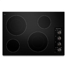 Black KitchenAid® 30-Inch 4 Element Electric Cooktop