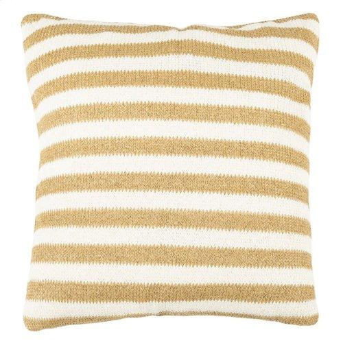 Glenna Pillow - Whtie/yellow