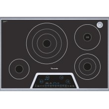 """Masterpiece 30"""" Electric Cooktop with Touch Control and Sensor Dome CES304FS"""