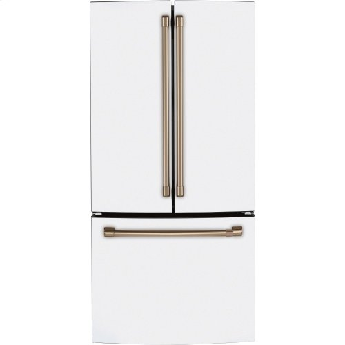Café ENERGY STAR ® 18.6 Cu. Ft. Counter-Depth French-Door Refrigerator