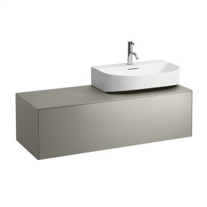 Gold & Nero Marquina Drawer element, 1 drawer, matching washbasins 816341, 816342, cut-out left / right Product Image